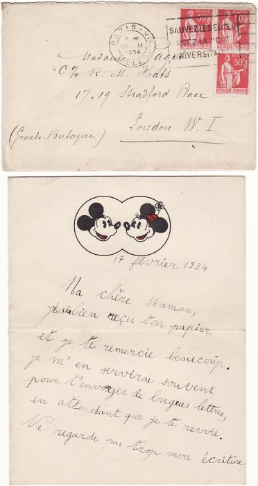 FRANCE-GB [EARLY DISNEY/MOURNING PAPER]