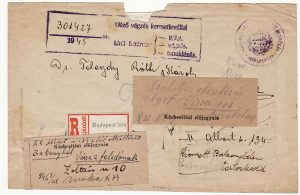 HUNGARY [REGISTERED/INFLATION PERIOD]
