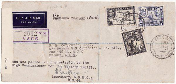 FIJI-AUSTRALIA [WW2-CENSORED]