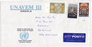 ANGOLA-NEW ZEALAND [UNAVEM 111/ANGOLA]