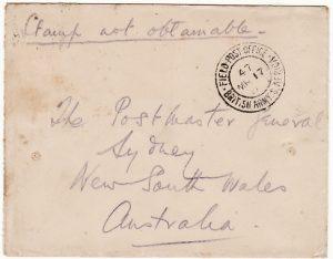 BOER WAR-AUSTRALIA  [AUSTRALIAN CONTINGENT]