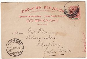 SOUTH AFRICA [NURSES MAIL]