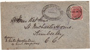 SOUTH AFRICA-GB [NURSES MAIL]