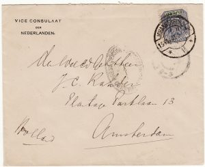 SOUTH AFRICA-HOLLAND [BOER WAR-DUTCH CONSULATE]