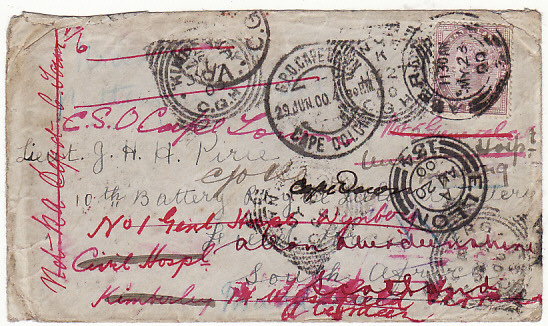GB-SOUTH AFRICA-GB [REDIRECTED & RETURNED MAIL- HOSPITAL]
