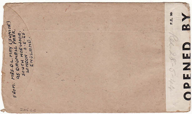[11354]  GB-TAIWAN [WW2 POW MAIL]  1943(Jun 30)