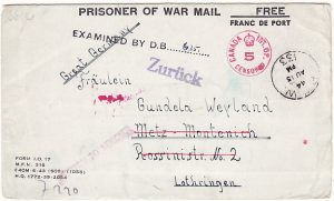 CANADA-GERMANY [LUFTWAFFE-POW MAIL]