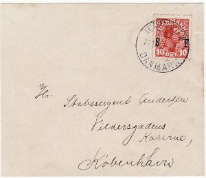 DANMARK [WW1-HOSPITAL-POW CAMP MAIL]