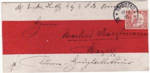 CHINA-GERMANY [KIAUTSCHOU-GERMAN MILITARY-RED BAND]