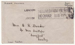 1915 GB …HMS CANOPUS DARDANELLES & GALLIPOLI CAMPAIGN ..