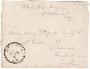 UGANDA-GB [WW1 EAST AFRICA CAMPAIGN]