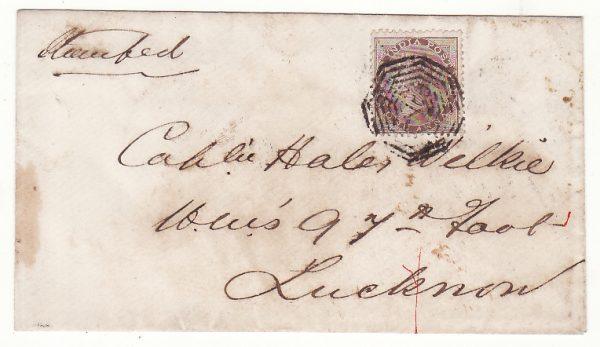 1858 India .. Indian Mutiny Internal Mail..