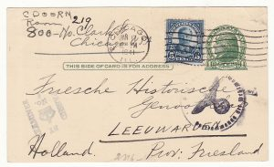 1941..USA - NETHERLAND…WW2  INTERCEPTED by CENSORS in BERMUDA...