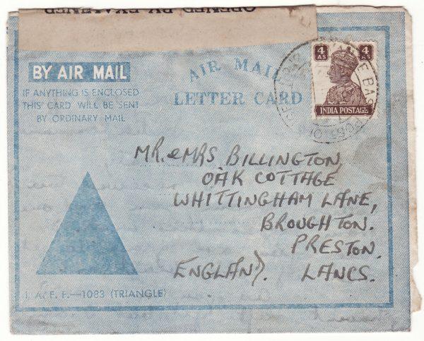 1944  INDIA - GB..WW2 BRITISH MILITARY MISSION CHINA…