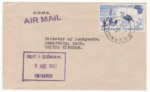 1957..AUSTRALIA - GB..4th SUBMARINE SQUADRON..