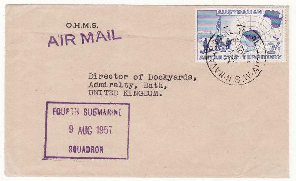 1957..AUSTRALIA - GB..4th SUBMARINE SQUADRON..