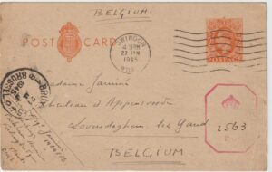 1945  GB - BELGIUM… WW2 BELGIAN FREE FORCES..