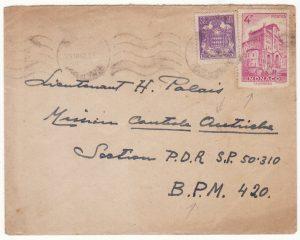 1947  MONACO - AUSTRIA..POST WW2  FRENCH MILITARY OCCUPATION FORCES …