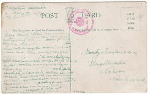AUSTRALIA-NEW ZEALAND [WW1 NZ TROOPSHIP MAIL]