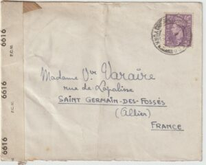 1944  GB - FRANCE...FREE FRENCH AIR FORCE