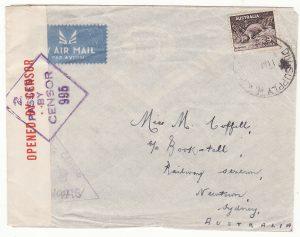 1941 EGYPT - GREECE - AUSTRALIA …1941 AUSTRALIAN FORCES…