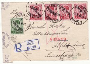 1941..YUGOSLAVIA - GERMANY..WW2 GERMAN OCCUPATION  SERBIA..