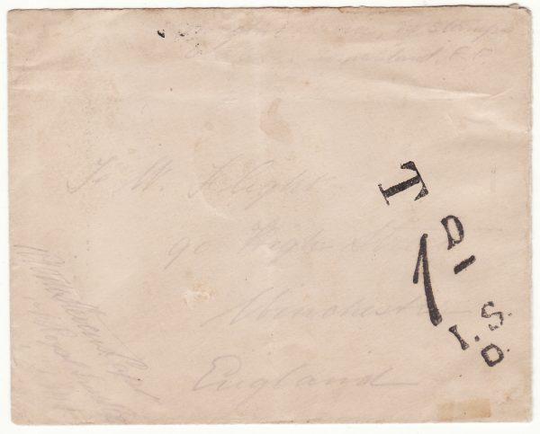 1904..SOMALILAND - GB..1904 SOMALILAND FIELD FORCE TAXED...