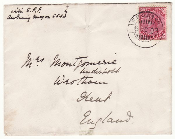 1903..SOMALILAND - GB..1903 SOMALILAND FIELD FORCE...
