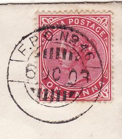 1903..SOMALILAND - GB..1903 SOMALILAND FIELD FORCE