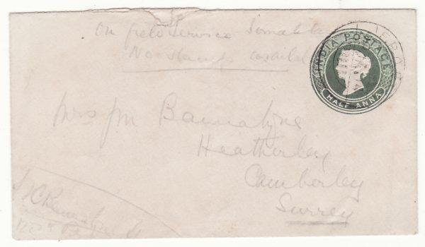 1904..SOMALILAND - GB..1904 SOMALILAND FIELD FORCE...