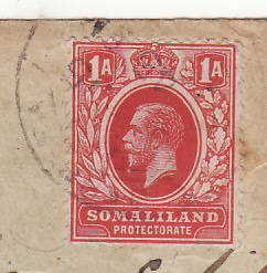 1915..SOMALILAND - INDIA..WW1 CENSORED INDIAN FORCES