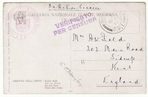 1917..GB - ITALY..BRITISH HOWITZER UNIT with ITALIANS..
