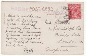 1915..AUSTRALIA - GB…WW1 THURSDAY ISLAND..