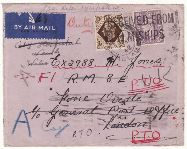 1942   GB - CEYLON …WW2 ROYAL MARINES FORCE OVERT..