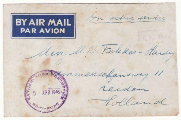 1946 SINGAPORE - NETHERLANDS…DUTCH FORCES..