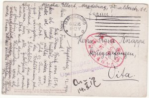 1916 GERMANY - JAPAN…WW1 GERMAN POW ex TSINGTAU….