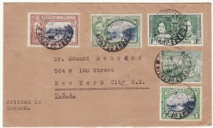 1941  TRINIDAD - USA..WW2 POW MAIL..