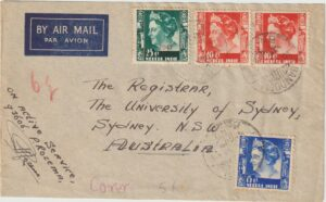 1947 NED. EAST INDIES - AUSTRALIA..INDONESIA WAR of INDEPENDENCE..
