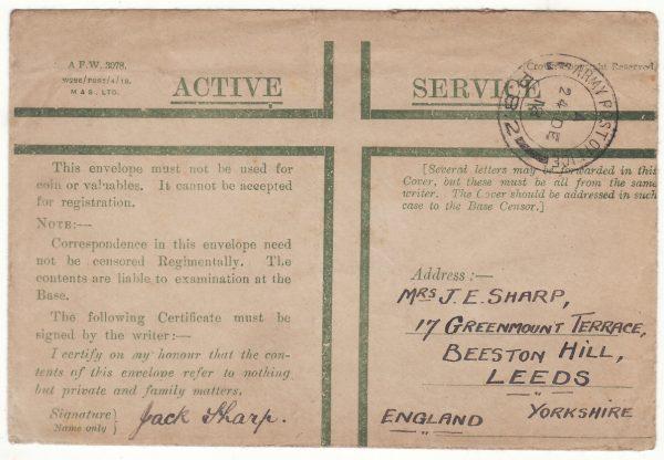 1918  RUSSIA - GB….BRITISH INTERVENTION FORCES in NORTH RUSSIA….