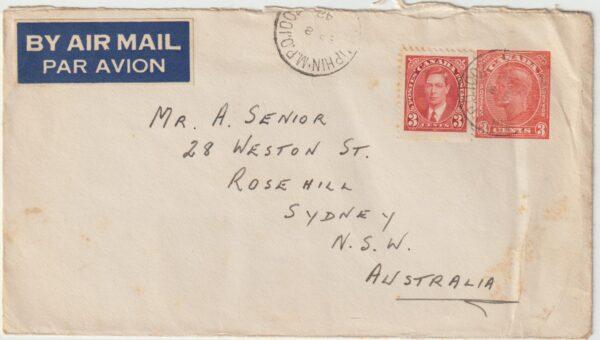 1942   CANADA - AUSTRALIA..AUST. AIRFORCE in CANADA..