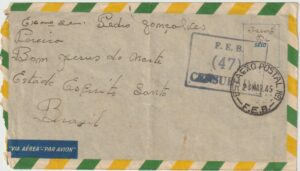 1945  ITALY - BRAZIL…WW2 BRAZILIANFORCES IN ITALY..