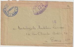 1919  SLOVAKIA - FRANCE..1919 FRENCH MILITARY MISSION…