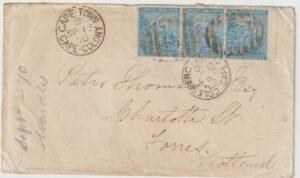 1870  SOUTH AFRICA - GB….C.O.G.H…