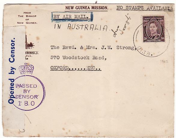 PAPUA & N.G.-GB [WW2 CENSORED]