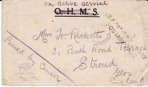 KENYA-GB [WW1 EAST AFRICA CAMPAIGN OHMS]