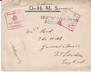 GERMAN EAST AFRICA-GB [WW1 TANGANYIKA EAST AFRICA CAMPAIGN OMMS]