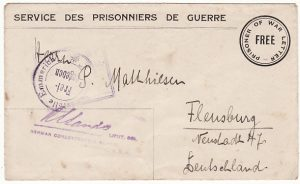 AUSTRALIA-GERMANY [POW MAIL]