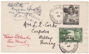 CAYMAN ISLANDS-GB [WW2 CENSORED]