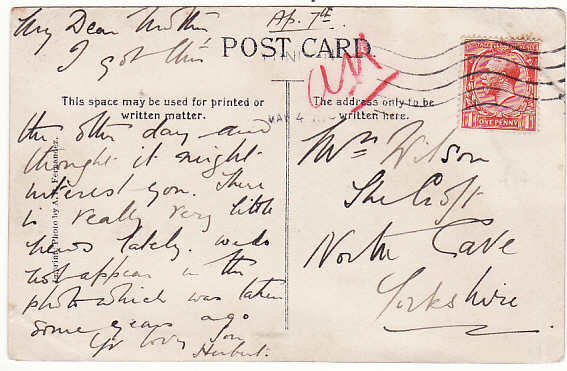 MUSCAT-GB [WW1 NAVAL MAIL]