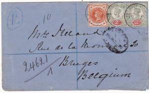 BOER WAR-BELGIUM [REGISTERED]